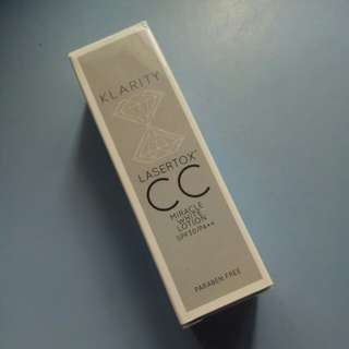 Klarity Lasertox CC Miracle White Lotion