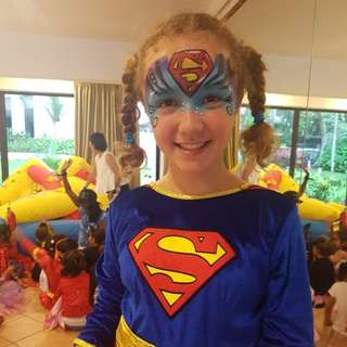FACE PAINTING SUPERHEROES
