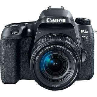 Canon EOS 77D Kit (18mm-55mm)