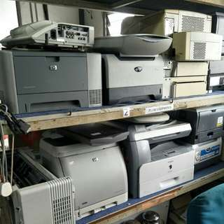 Canon/HP/Brother printers for sale @ B1/2