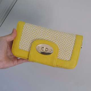 Colette Yellow wallet