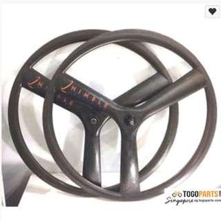 Nimble Tri spoke wheelset