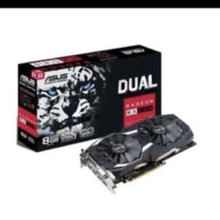 Asus Dual RX 580 8GB