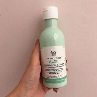 The Body Shop Aloe Calming Cream Cleanser