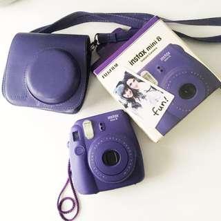 Fujifilm Instax Mini 8 Instant Camera (Purple)