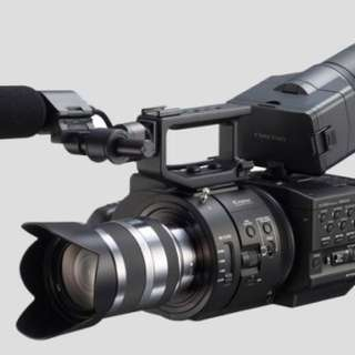 Camera camcorder FS700 with 18-200mm lens rental per day