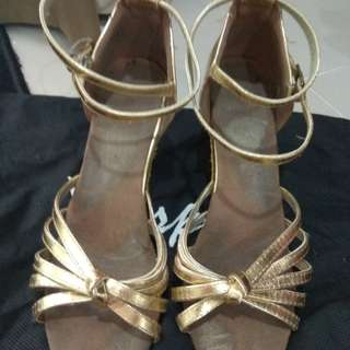 Latin dance shoes size 6