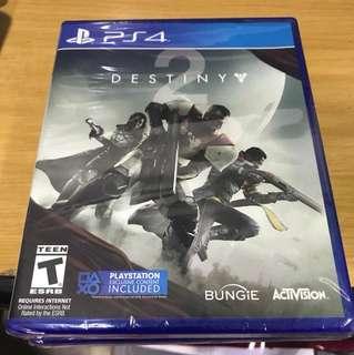 BNIB DESTINY 2 PS4