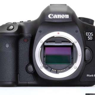 Camera DSLR Canon 5D Mk3- rental per day