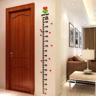 3D Height Wall Sticker