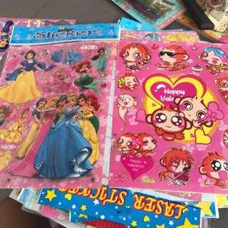 Assorted Stickers Grabbag Goodie Bag Surprise Instock