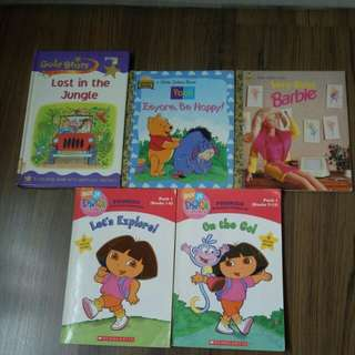 [$10 for all] Baby Books