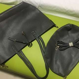 Genuine Leather Reversible Bag