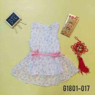 [READY STOCK]  🌸 Sweet Cherry Dress