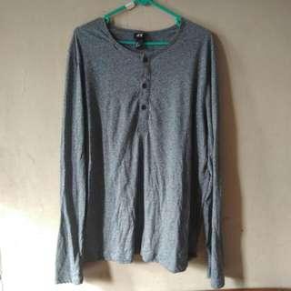 H&M Grey Sleeve