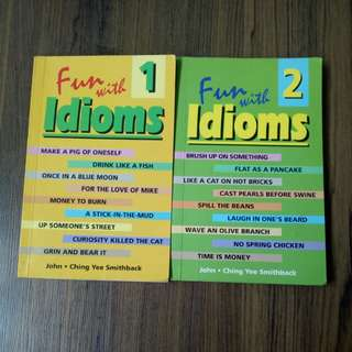 [$5 for both!] Fun With Idioms