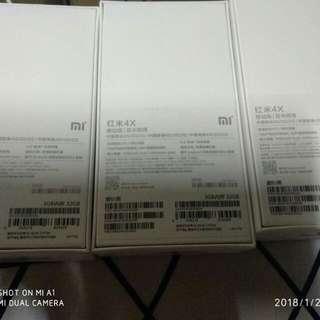 Xiaomi redmi 4x 3gb ram / 32 rom