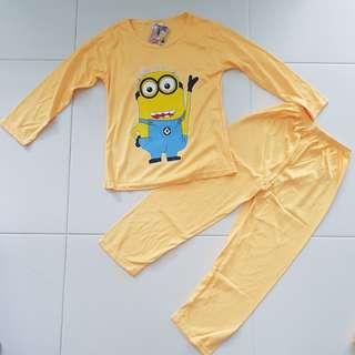 Minions Kids Pyjamas (Yellow)