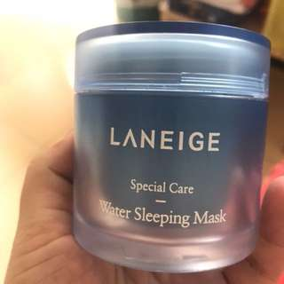 PRELOVED LANEIGE WATER SLEEPING MASK