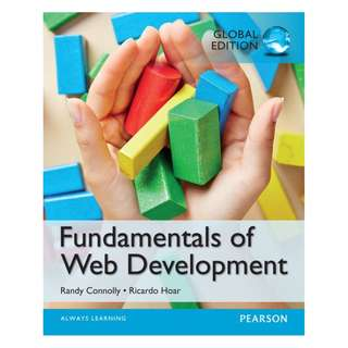 Fundamentals of Web Development, Global Edition BY Randy Connolly