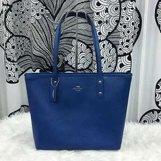 100% AUTHENTIC Coach City Zip Leather Tote