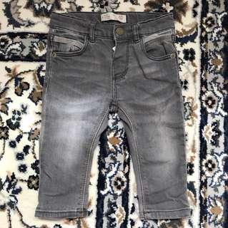 zara baby boy jeans 6-9 months