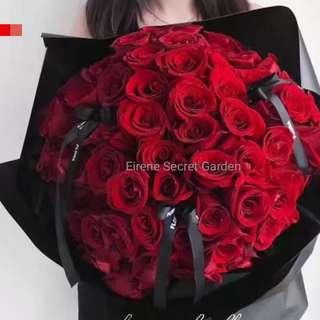 Valentine bouquet/flower bouquet/birthday bouquet/anniversary bouquet