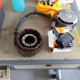 Honda CB750 Rectifier and Stator Coil
