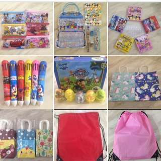 Wide range of goody bag item with appshop1