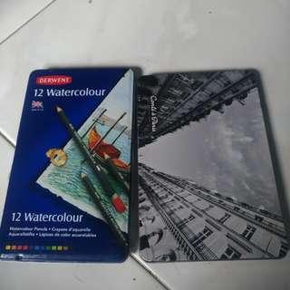 Derwent Watercolour and Conte a Paris