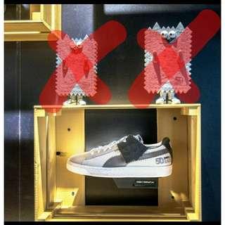 全新 Size uk 10.5 Michael Lau x Puma Sample Suede 50 週年! (*** 不包Figure)
