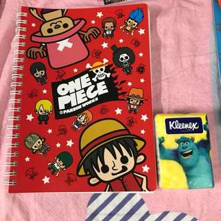 海賊王 One Piece 記事薄 Notebook