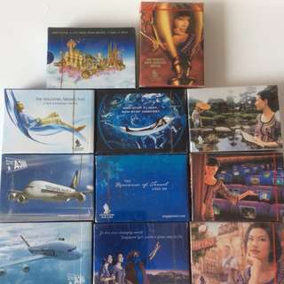 Singapore Airline playing cards