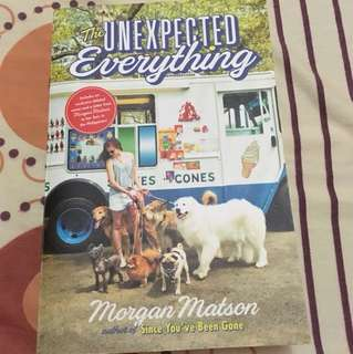NEW! The Unexpected Everything by Morgan Matson