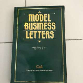 Book - Model Business Letters