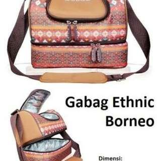 Reprice Cooler Bag Gabag Ethnic Borneo Preloved