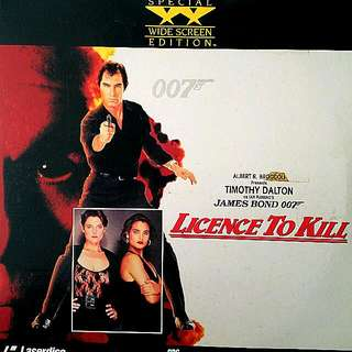 JAMES BOND 007 (Laser Disc)