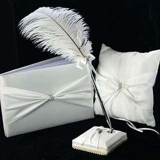 EGS18010 Garden Theme Collection Set With Ribbons Feather