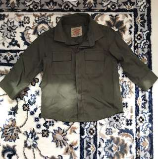 next olive green shirt 6-9 months