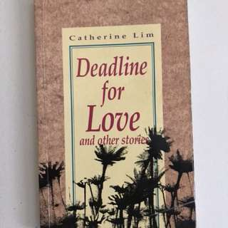 Book - Deadline for Love and other stories