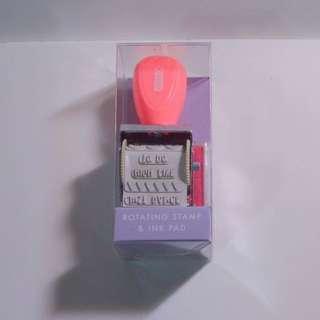 Kikki K Stamp and Stamp Pad