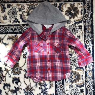pumkin patch hoody shirt 3-6 months