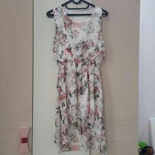 Dress Floral Vintage