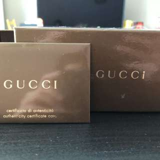 Authentic used Gucci sunglasses