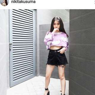Awan ungu purple crop switer clodly