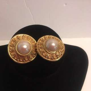 Authentic Vintage Christian Dior Earrings