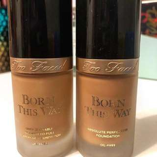 SHARE IN JAR Too Faced Born This Way Foundation