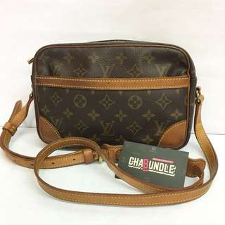 Authentic louis vuitton trocadero 23 crossbody