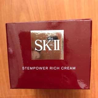 Skii Sk2 Skll (半價)stempower rich cream 50g
