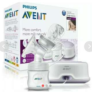 Electric and Manual Breastpump with many freebies